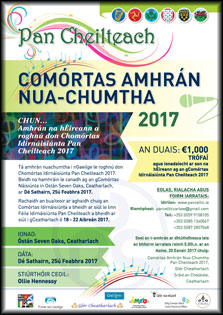 Pan Celtic National Song Contest 2017